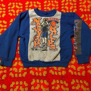 Vintage 90's kids Knicks sweatshirt